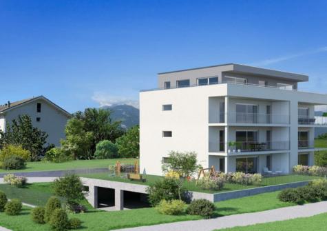 Appartement de 4.5 pces avec terrasse sur Monthey (VS)