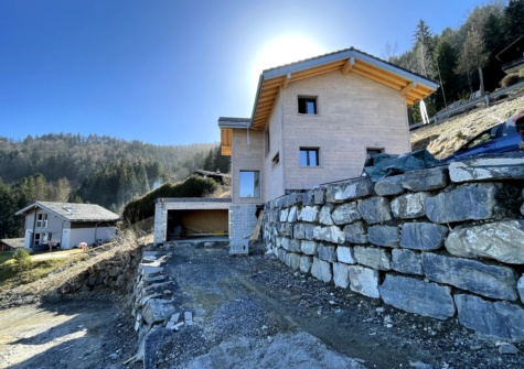 Magnifique maison avec vue sur le lac à Choëx